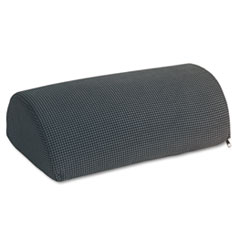 Half-Cylinder Padded Foot Cushion, 17-1/2w x 11-1/2d x 6-1/4h, Black