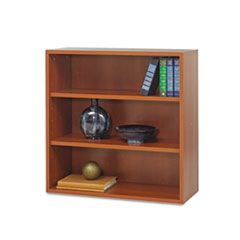 Après Open Bookcase, Three-Shelf, 29-3/4w x 11-3/4d x 29-3/4h, Cherry