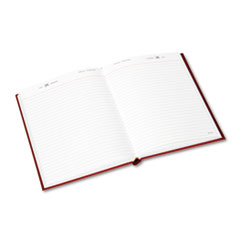 Standard Diary Daily Diary, Recycled, Red, 7 1/2 x 9 7/16, 2017