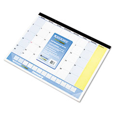 "COU ** QuickNotes Recycled Desk Pad, 22"" x 17"", 2013-2014 at Sears.com"