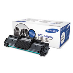 SCXD4725A Toner, 3000 Page-Yield, Black