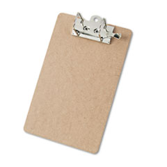 "Arch Clipboard, 2"" Capacity, Holds 8 1/2""w x 12""h, Brown"