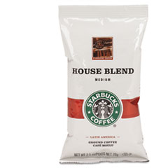 COFFEE, REGULAR HOUSE BLEND, 2 1/2 OZ PACKET, 18/BOX