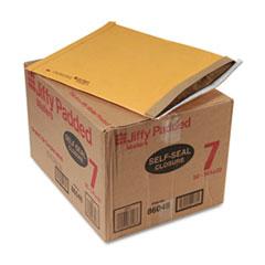 Jiffy Padded Self Seal Mailer, #7, 14 1/4 x 20, Natural Kraft, 50/Carton