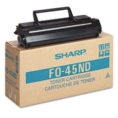 FO45ND Toner/Developer Cartridge, 6500 Page-Yield, Black
