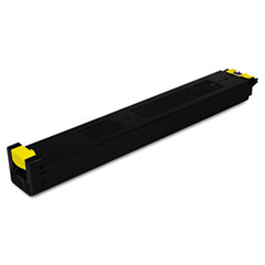 MX27NTYA Toner, 15000 Page-Yield, Yellow