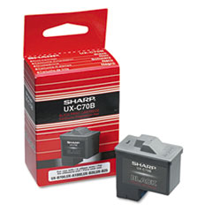 UXC70B Ink, 500 Page-Yield, Black