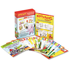 Alpha Tales Learning Library Set, Grades K-1, Softcover, 16 Pages