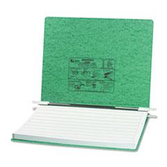 "Hanging Data Binder with PRESSTEX Cover, Unburst Sheets, 6"" Cap, Light Green"