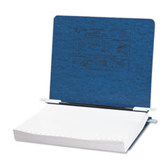 Pressboard Hanging Data Binder, 11 x 8-1/2 Unburst Sheets, Dark Blue