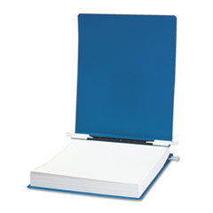 "Hanging Data Binder with ACCOHIDE Cover, Unburst Sheets, 6"" Capacity, Blue"