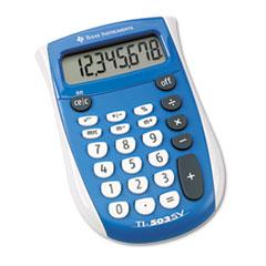 TI-503SV Pocket Calculator, 8-Digit LCD