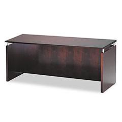 Napoli Series Wood Veneer Credenza, 72w x 24d x 29½h, Mahogany