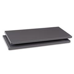 Commercial Steel Shelving Extra Shelves, 36w x 18d, Medium Gray, 2/Box TNNES18MGY