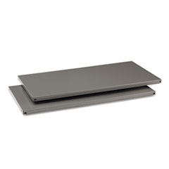 Commercial Steel Shelving, Five-Shelf, 36w x 18d x 75h, Medium Gray TNNESP1836MGY