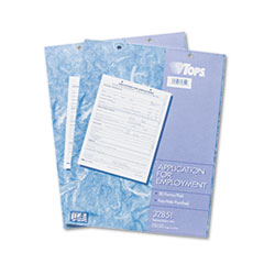 COU ** Employee Application Form, 8 3/8 x 11, 50/Pad, 2/Pack at Sears.com