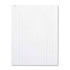 Data Pad with Plain Column Headings, 8 1/2 x 11, White, 50 Sheets