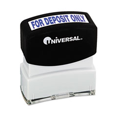 COU ** Message Stamp, for DEPOSIT ONLY, Pre-Inked/Re-Inkable, Blue at Sears.com