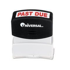 MotivationUSA * Message Stamp, PAST DUE, Pre-Inked/Re-Inkable, Red at Sears.com