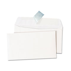 Peel Seal Strip Business Envelope, #6 3/4, White, 100/Box