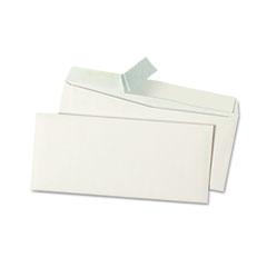 Peel Seal Strip Business Envelope, #9, White, 500/Box
