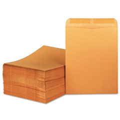 Catalog Envelope, Center Seam, 11 1/2 x 14 1/2, Brown Kraft, 250/Box