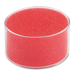 "Sponge Cup Moistener, 3"" Dia, Clear UNV56503"