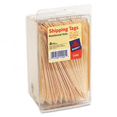 Shipping Tags, 2-3/8 x 4-1/4, Manila, 100/Pack