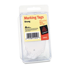 Marking Tags, 2-3/4 x 1-11/16, White, 100/Pack