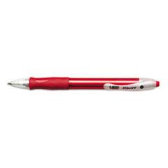 Velocity Ballpoint Retractable Pen, Red Ink, Medium, Dozen