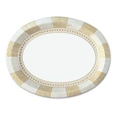 "Sage Collection Oval Platters, 8 /12"" x 11"", 125/Pack DXESX11PLSAGE"