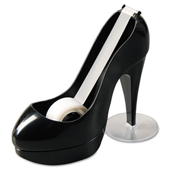 Shoe Tape Dispenser, Black High Heel, 1