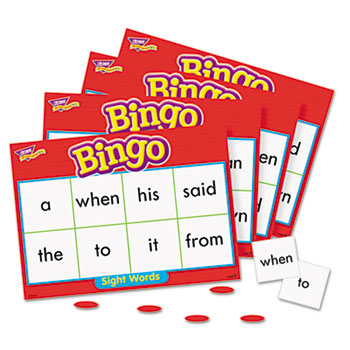 TREND Young Learner Bingo Game, Sightwords, TEPT6064