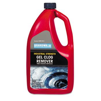Boardwalk Gel Clog Remover Drain Opener 80oz Bottle
