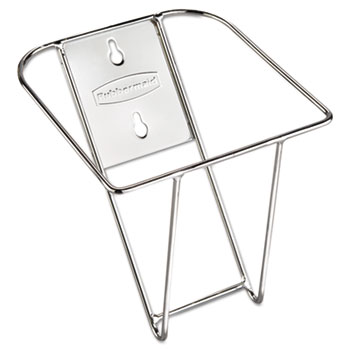 Rubbermaid Commercial Scoop Holder Bracket, Stainless Steel, 7 1/2w x 10d x 5 2/5d, RCP 9F43