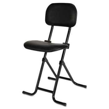 IL Series Height Adjustable Folding Stool By Alera Plus
