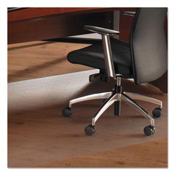 Superwarehouse   Cleartex Ultimat XXL Polycarbonate Chair Mat For Hard  Floors, 60 X 60, Clear, Floortex 1215015019ER