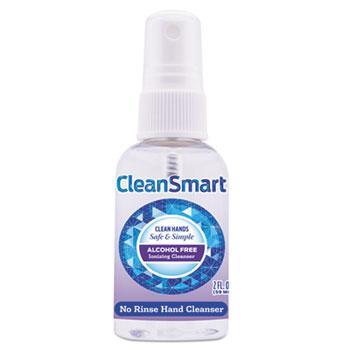 Antimicrobial Hand Cleanser Spray, 2 oz Spray Bottle