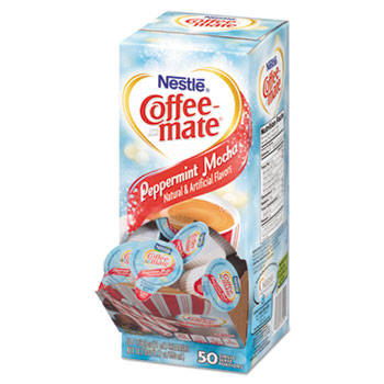 Peppermint Mocha Creamer, 0.375oz, 50/Box