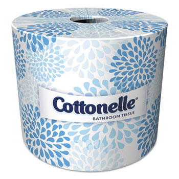 Two-Ply Bathroom Tissue, 451 Sheets/Roll, 60 Rolls/Carton