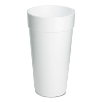 Foam Drink Cups, 20oz, 500/Carton
