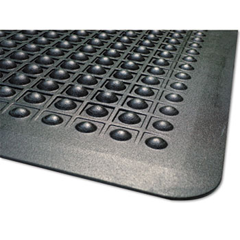 MILLENNIUM MAT COMPANY Flex Step Rubber Anti-Fatigue Mat, Polypropylene, 24 x 36, Black at Sears.com