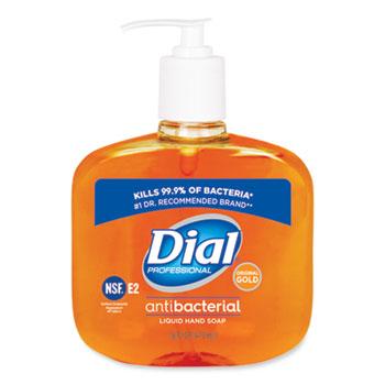 Gold Antibacterial Liquid Hand Soap, Floral, 16 oz Pump