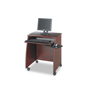 Safco Products Picco Duo Workstation, 28-1/4w x 22-1/4d x 30-1/4h, Mahogany Laminate Top at Sears.com
