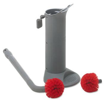 Unger Ergo Toilet Bowl Brush System w/Holder