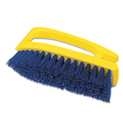 BRUSH, SCRUB, IRON SHP HNDL