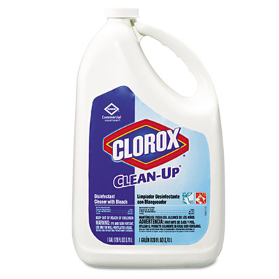 CLEANER, W/BLEACH, 128OZ