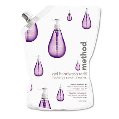REFILL, GEL HAND WASH, LV