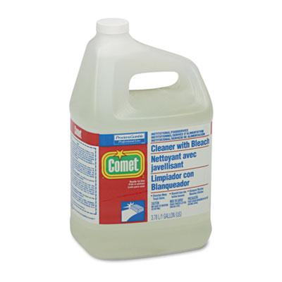 CLEANER, COMET W/BLCH, 1GL
