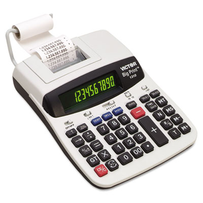 1310 Big Print Commercial Thermal Printing Calculator, Black Pri